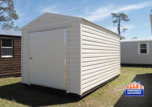 Keens-Buildings-Metal-Shed-12x16-60-door-storage-building