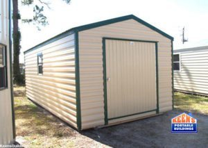 Keens-Buildings-Metal-Shed-12x20-60-door-storage-building-4
