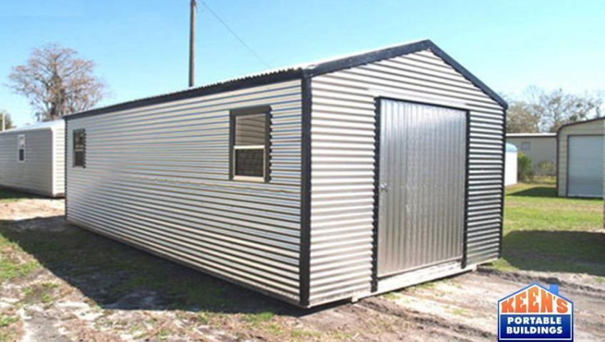 metal shed 12x24 silverwood keen s buildings