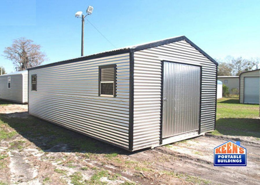 12x24 Portable Storage Building : Metal sheds keen s buildings