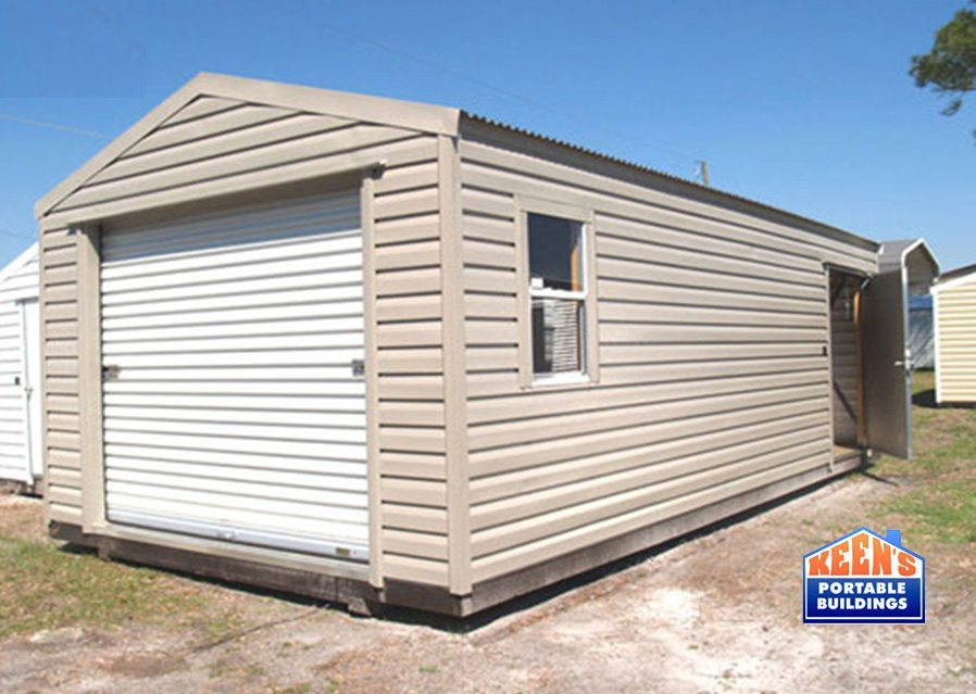 Metal-Shed-12x30-rolldoor