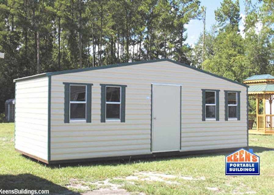 Metal sheds keen 39 s buildings for Aluminum sheds for sale