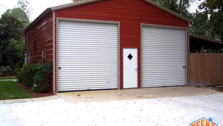 2 Port Steel Garage Front Elevation copy