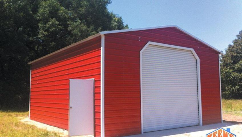 24X30 Garage one rollup door one walk in door