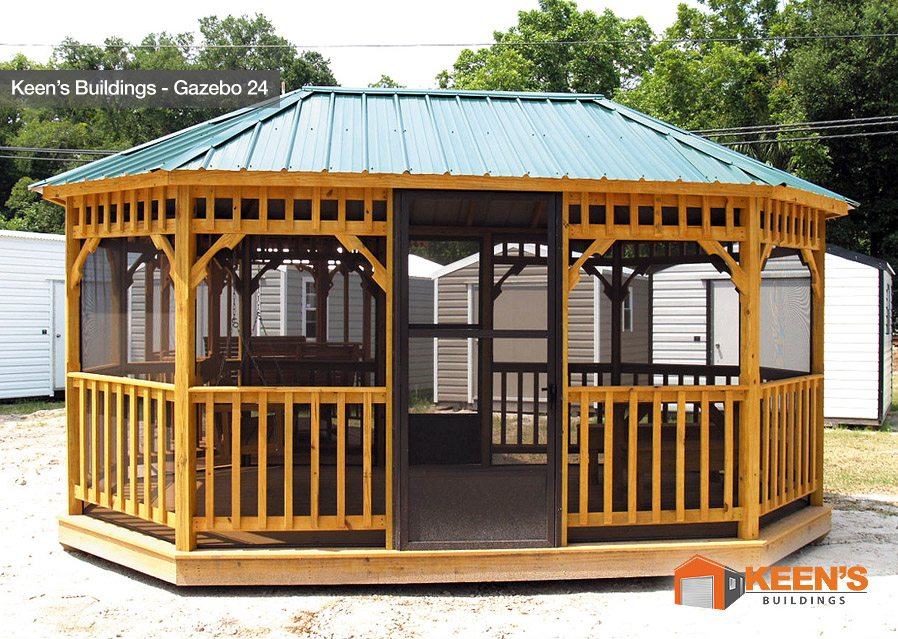 Keens-Building-Gazebo-24-12x18-with-Screen