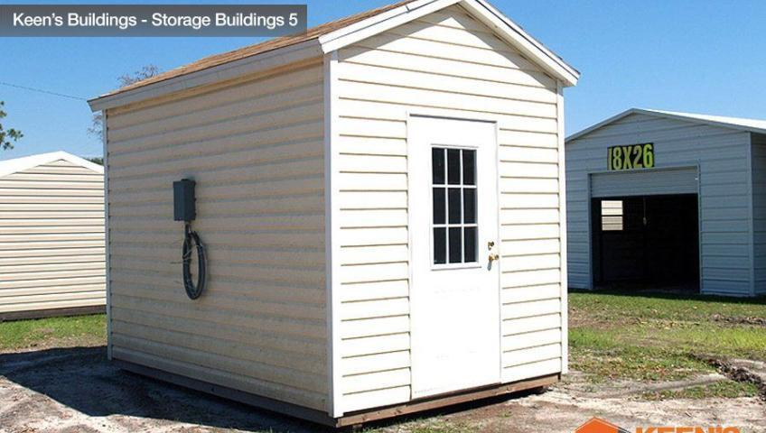 Keens Buildings 10x12 Shed Buildings 5