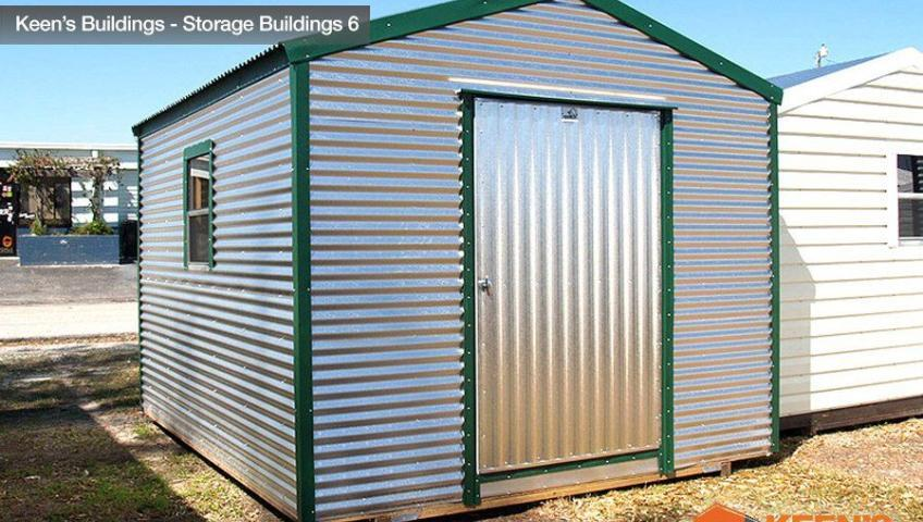 Keens Buildings 10x12 Storage Building 6