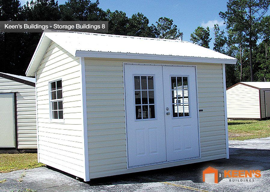 Keens Buildings 10x12 Storage Shed View 2 8