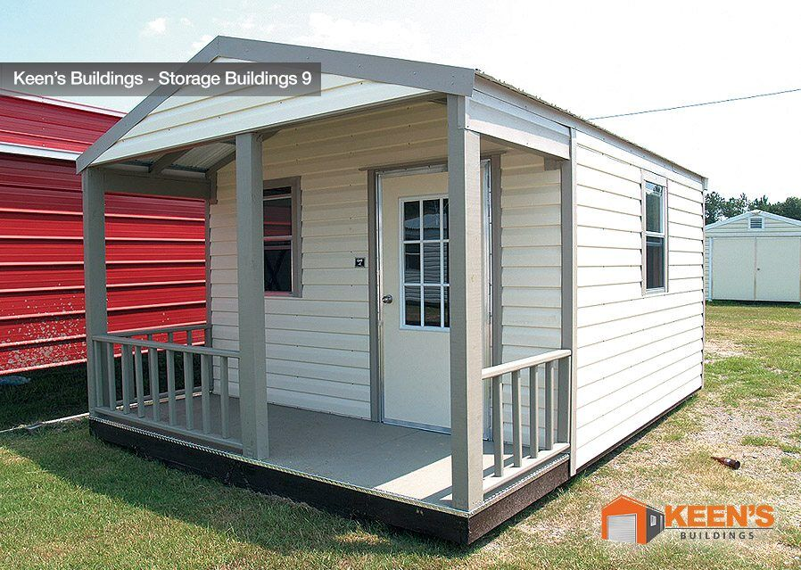10x12 Shed With Porch 14x30 Storage Shed Outbuilding