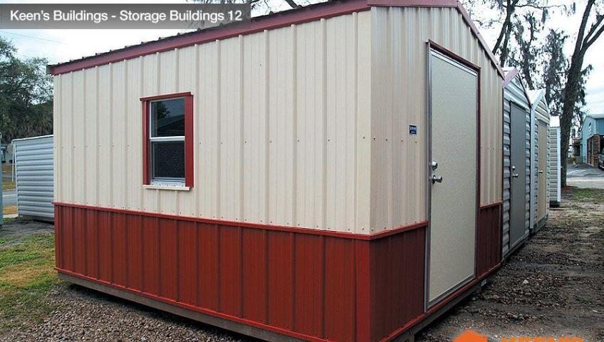 Keens Buildings 10x16 Shed 12