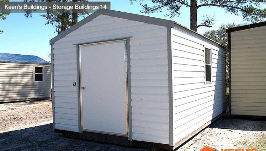 Keens Buildings 10x16 Storage Shed 14