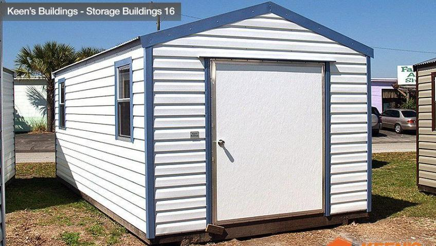 Keens Buildings 10x20 Storage Building Shed 16