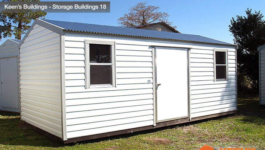 Genial Keens Buildings 10x20 Storage Shed 18
