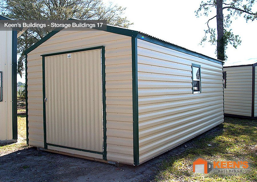 10 20 Garage Shed : Storage buildings keen s