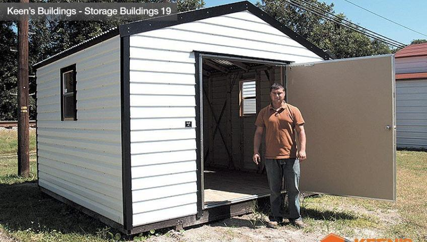 Keens Buildings 12x12 outdoor shed 19