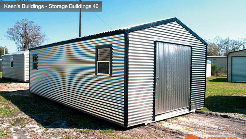 Keens Buildings 12x30 Storage Building Shed 40