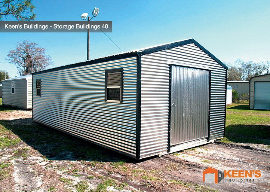Storage buildings keen 39 s buildings for Garden shed builders warehouse