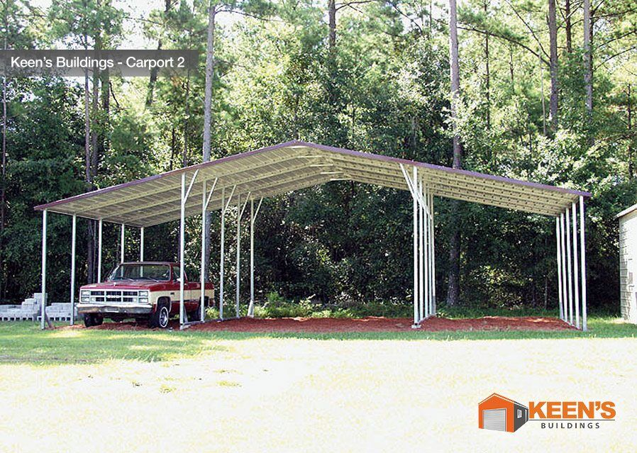 Keens Buildings 3 Bay Carport 2
