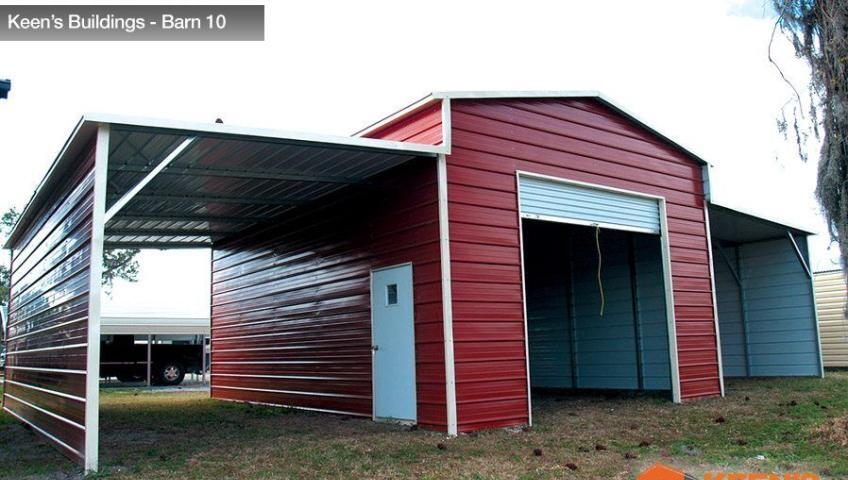 Keens-Buildings-Barn-with-one-roll-up-garage-door-10