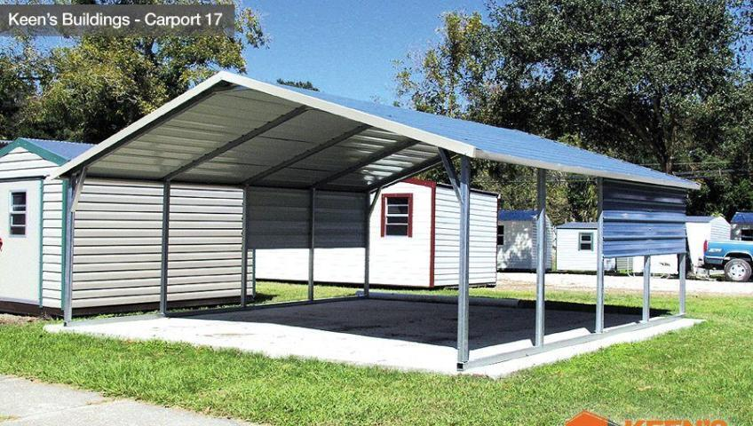 Keens Buildings Steel Carport 17