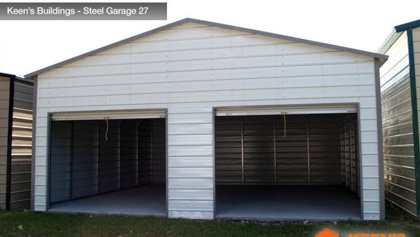 Keens Buildings Steel Garage 27