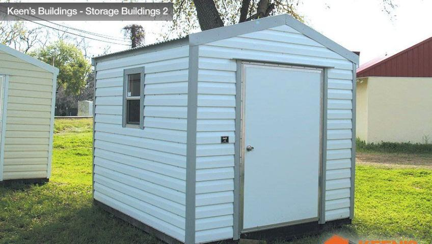 Keens Storage Buildings 8x10 outdoor shed 2