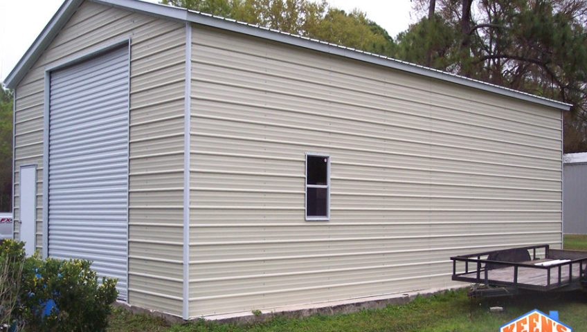 Single Bay Garage Roll Up Door