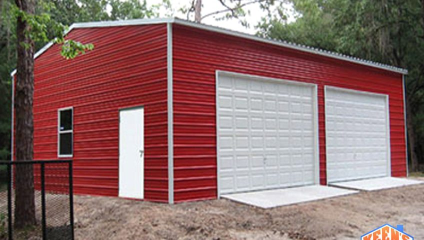 TBS 36Red Double Door Barn