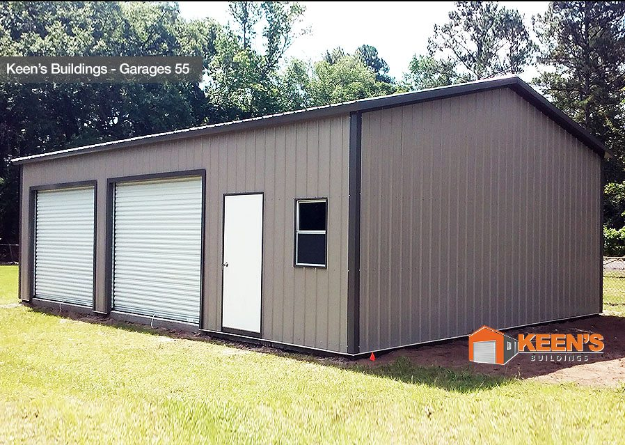Keens-Buildings-Garages-55-Steel Buildings