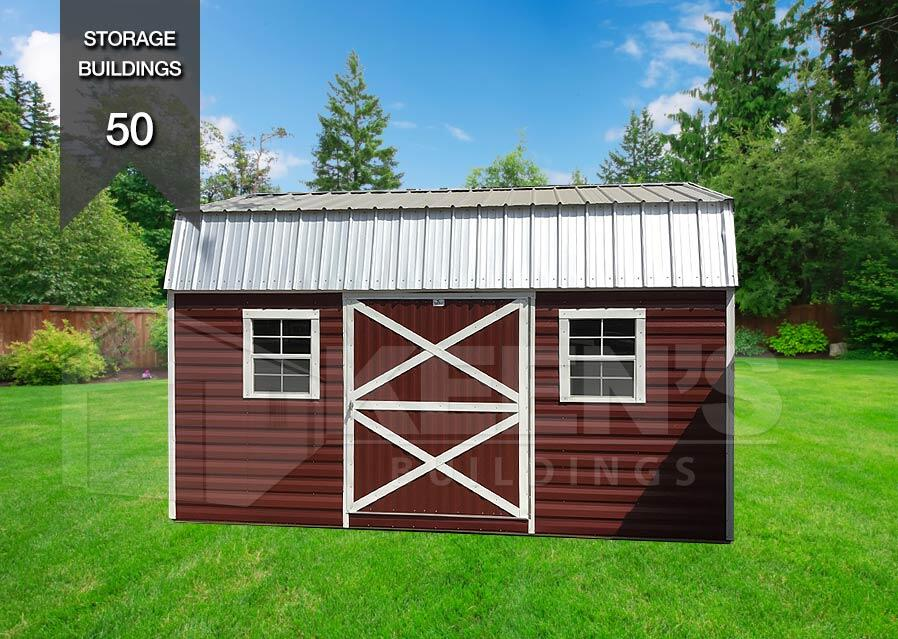 Lofted Barn Keens Buildings 50 Portable Storage Building
