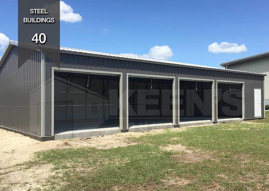 Steel Building Kb 40 40x60 Vertical Side And Ends 10x8