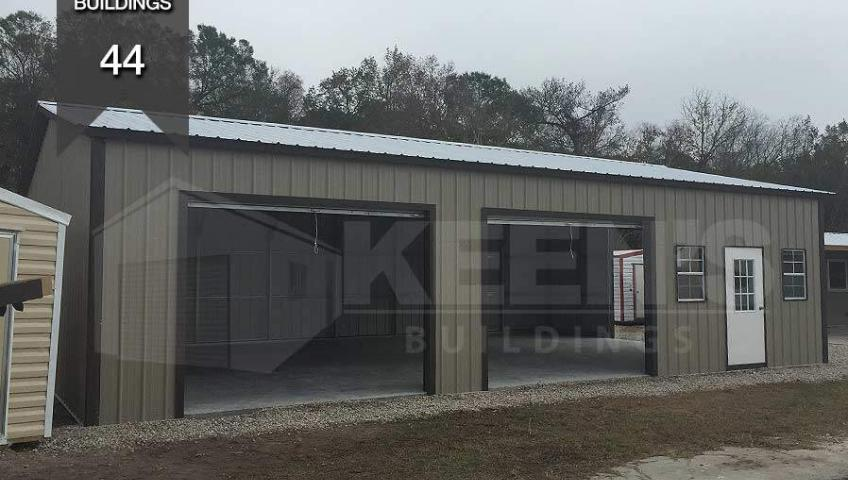 Steel Building Kb 44 30x41 All Vertical Building Keen S
