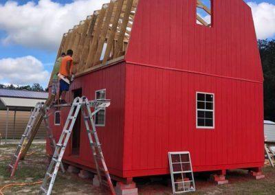 2-Story-Barn-Build-12